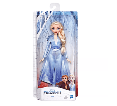 NEW Disney Frozen 2 Elsa Fashion Doll With Long Blonde Hair and Blue Outfit - My Cute Cheap Store