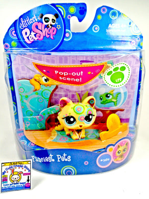 Littlest Pet Shop Fanciest Pets Crouching Cat #1839 - My Cute Cheap Store