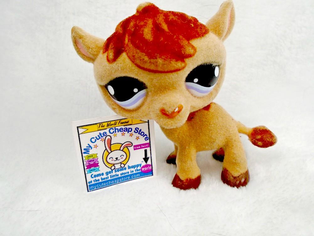 Littlest Pet Shop LPS Special Edition Happiest #997 Fuzzy Camel - My Cute Cheap Store