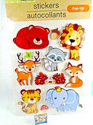 Cute Animal Stickers 11 units - My Cute Cheap Store