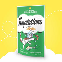Temptations Adult Seafood Medley Flavor Cat Treats - My Cute Cheap Store