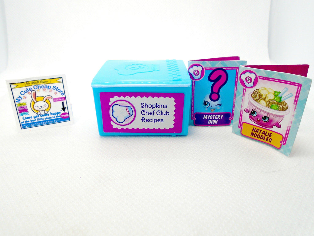 Shopkins Chef Recipe box - My Cute Cheap Store