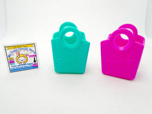 Shopkins lot of 2 Shopping Bags - My Cute Cheap Store