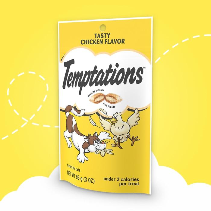 Temptations Adult Tasty Chicken Flavor Cat Treats 3 oz - My Cute Cheap Store