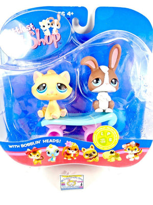 Littlest Pet Shop Totally Talented Pets #121 and #122 NIB - My Cute Cheap Store