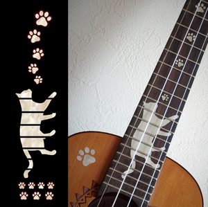 Cat Paws, Fret Marker Sticker