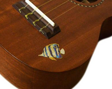 Butterfly fish, Inlay Sticker