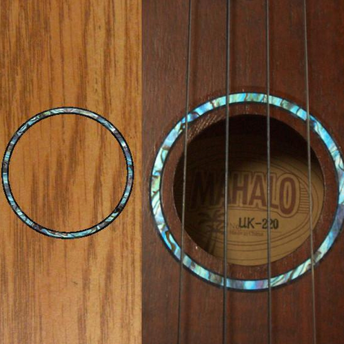 Rosette Abalone, Inlay Sticker