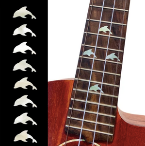Dolphin Fret Markers, Inlay Sticker