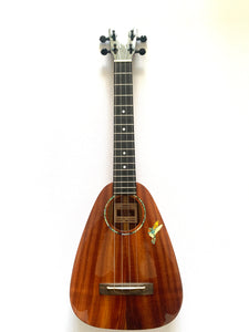 Tiny Tenor Koa by PEPE ROMERO CREATIONS