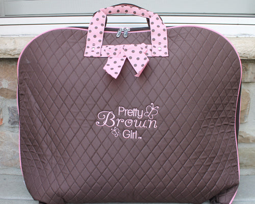 Pretty Brown Girl Garment Bag