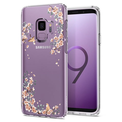 SPIGEN LIQUID CRYSTAL GALAXY S9 BLOSSOM NATURE