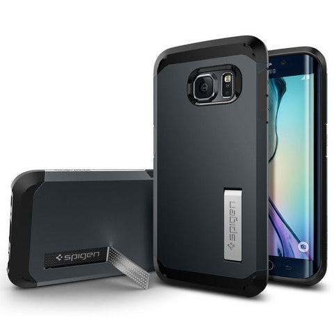 SPIGEN TOUGH ARMOR GALAXY S6 EDGE METAL SLATE