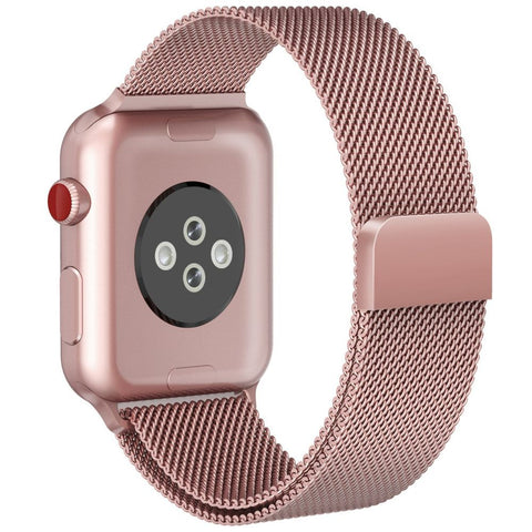 TECH-PROTECT MILANESEBAND APPLE WATCH 1/2/3 (38MM) ROSE GOLD