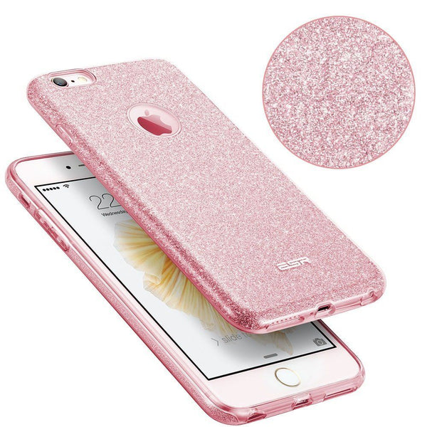 ESR GLITTER SHINE IPHONE 6/6S PLUS SILVER