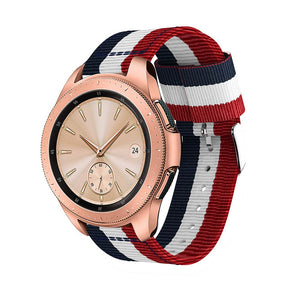 TECH-PROTECT WELLING SAMSUNG GALAXY WATCH 42MM NAVY/RED