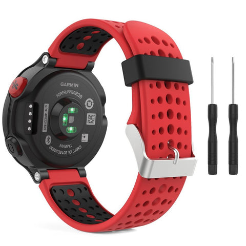 TECH-PROTECT SMOOTH GARMIN FORERUNNER 220/230/235/630/735 RED/BLACK