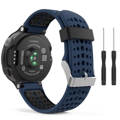 TECH-PROTECT SMOOTH GARMIN FORERUNNER 220/230/235/630/735 BLUE/BLACK