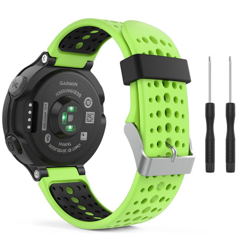 TECH-PROTECT SMOOTH GARMIN FORERUNNER 220/230/235/630/735 GREEN/BLACK