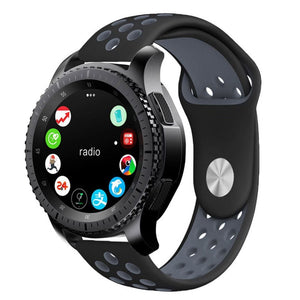 TECH-PROTECT SOFTBAND SAMSUNG GALAXY WATCH 42MM BLACK/GREY
