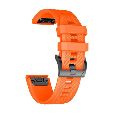 TECH-PROTECT SMOOTH GARMIN FENIX 3/5X/3HR (26MM) ORANGE