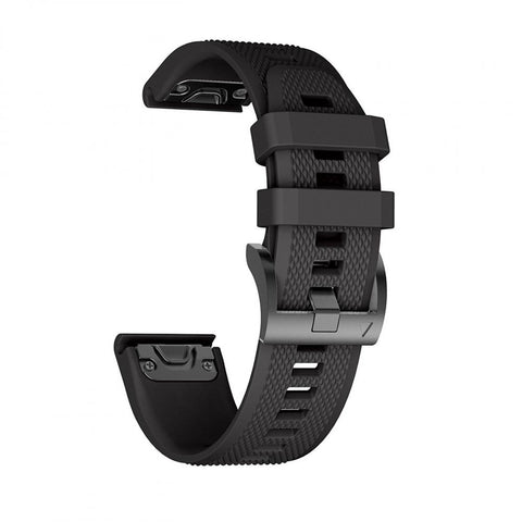 TECH-PROTECT SMOOTH GARMIN FENIX 3/5X/3HR (26MM) BLACK