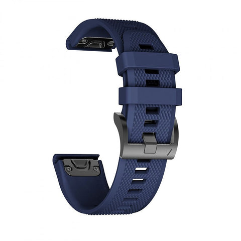 TECH-PROTECT SMOOTH GARMIN FENIX 3/5X/3HR (26MM) NAVY BLUE