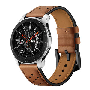 TECH-PROTECT LEATHER SAMSUNG GALAXY WATCH 42MM BROWN