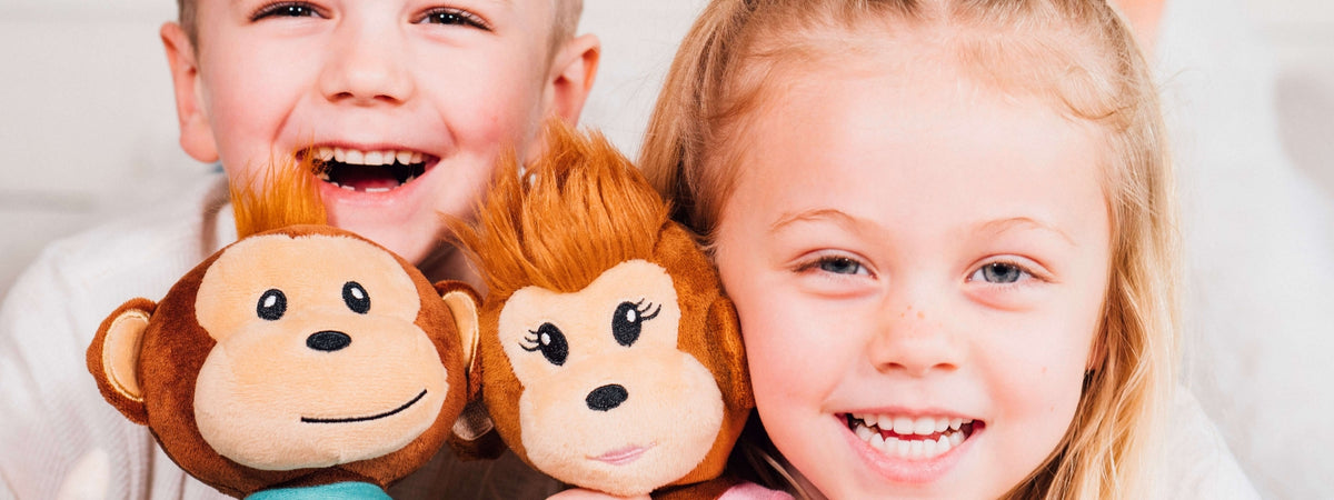 earthmonkeys stuffed animal monkey