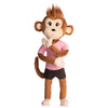 Sarah the earthMonkey with Bendable Body, Arms & Legs!