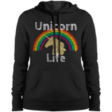 Unicorn Life™ Sport-Tek Ladies' Pullover Hooded Sweatshirt