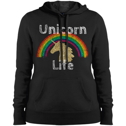Unicorn Life Sport-Tek Ladies' Pullover Hooded Sweatshirt