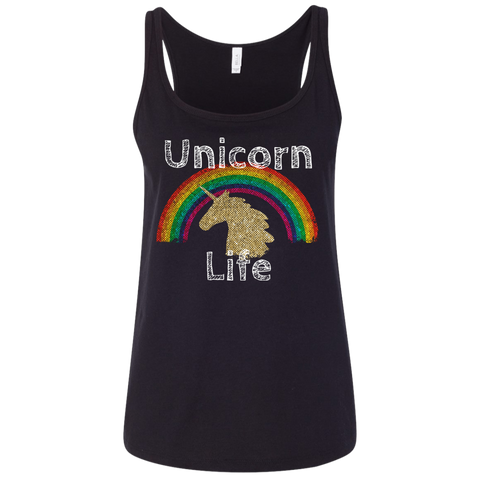 Unicorn Life Ladies' Relaxed Jersey Tank