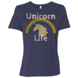 Unicorn Life Ladies' Relaxed Jersey Short-Sleeve T-Shirt