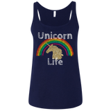 Unicorn Life™ Ladies' Relaxed Jersey Tank