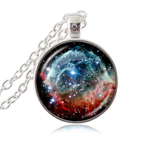 Beautiful Nebula Necklaces for Women and Men!