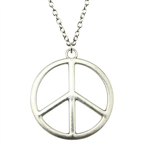 Creative Revolution Apparel Peace Sign Pendant Necklace