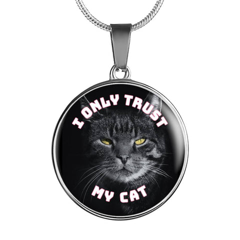 I Only Trust My Cat (Black) Necklaces and Bangles