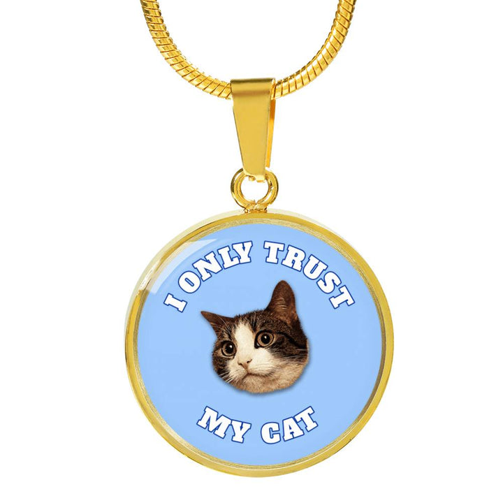 I Only Trust My Cat (Blue) Necklaces and Bangles