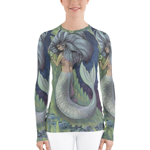 Mystical Mermaid Women's Sports Top