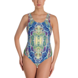 RevolutionSwim ProudPeacock™ One-Piece Swimsuit