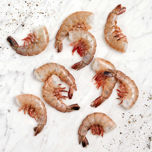 10/15 Gulf White Shrimp Shell-On