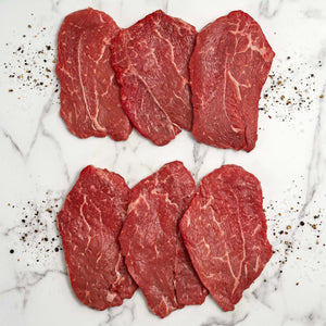 Beef Thin Shoulder Steak In Package