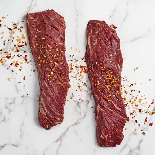 Black Angus Beef Hanger Steak - Black Angus Beef Hanger Steak
