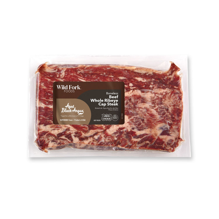 Black Angus Beef Whole Ribeye Cap Steak - Black Angus Beef Whole Ribeye Cap Steak Package