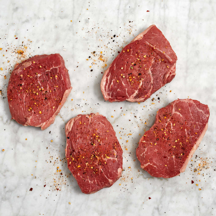 Black Angus Beef Thick Center Cut Sirloin Medallions - USDA Choice Black Angus Beef Thick Center Cut Sirloin Medallions