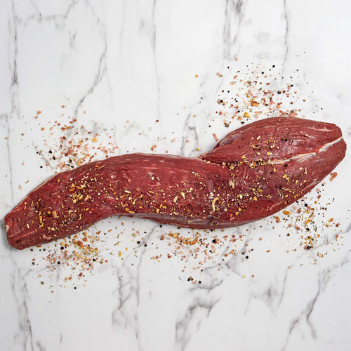 Black Angus Beef Peeled Tenderloin - Black Angus Beef Peeled Tenderloin