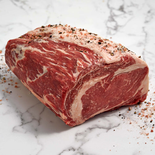 Black Angus Beef Ribeye Roast - USDA Choice Boneless Black Angus Beef Ribeye Roast