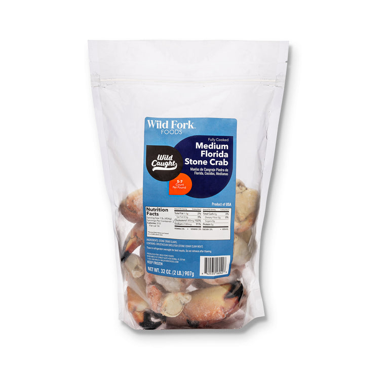 Fully Cooked Florida Stone Crab Claws - Fully Cooked Florida Stone Crab Package