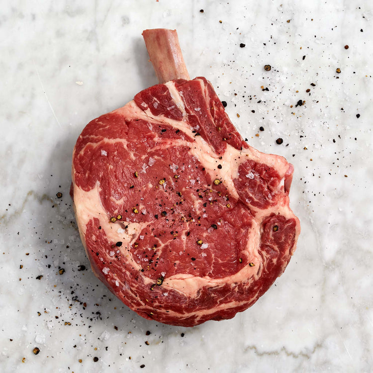 Prime Black Angus Bone-In Beef Cowboy Steak - ribeye_steak_thick_angus_prime